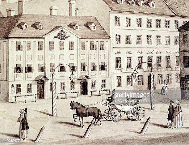 Leopoldstadt theatre in Vienna Austria 19th Century