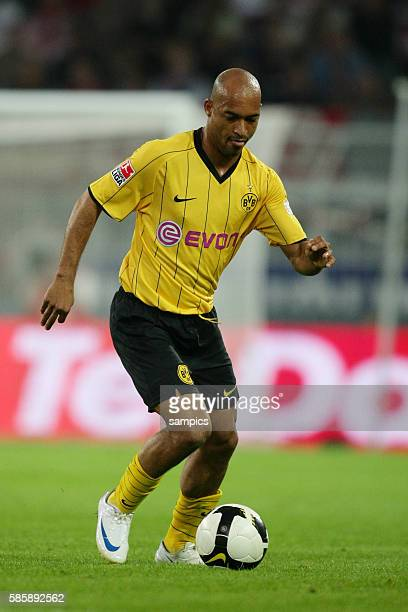 Leorando Dede of Dortmund during the 2008 DFB Supercup match between Cup winners Borussia Dortmund and German Champions Bayern Munich in Dortmund,...