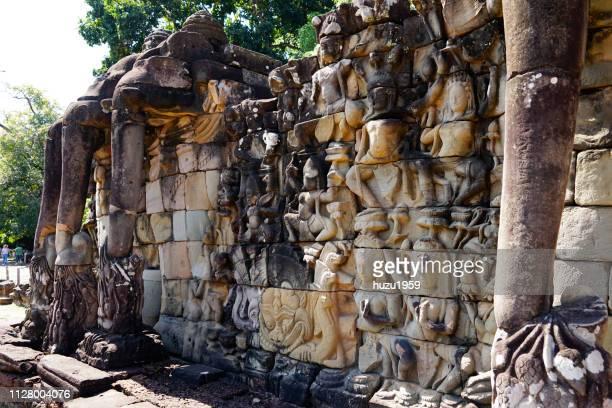 Leperking Terrace of Angkor Thom