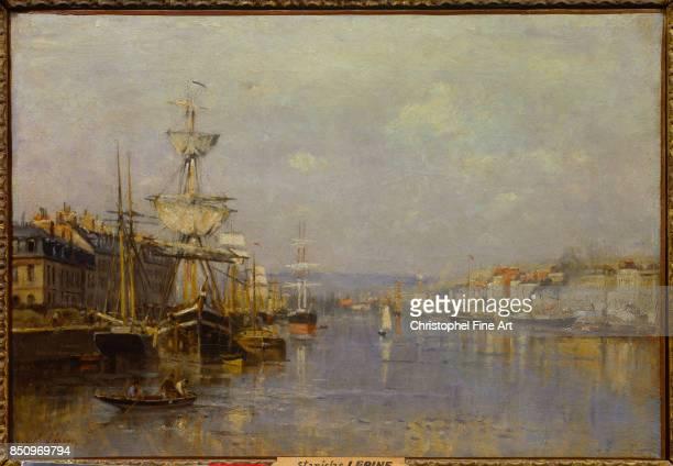 Lepine Stanislas The Port of Rouen Reims Fine Art Museum