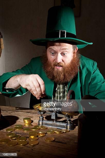 Leprechaun Calculate Gold coins