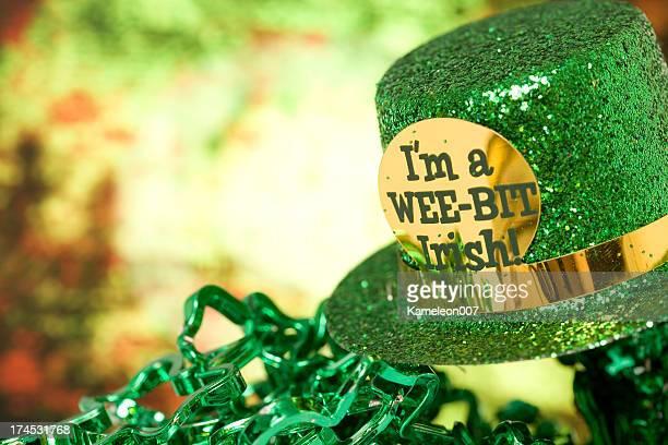 leprechaun's hat - leprechaun stock pictures, royalty-free photos & images