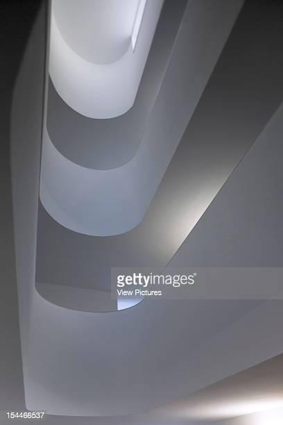 Lerida University Alvaro Siza Lerida 2008 Graphic Low Angle View Towards MultiStorey Rooflight Leridauniversity Architect2008