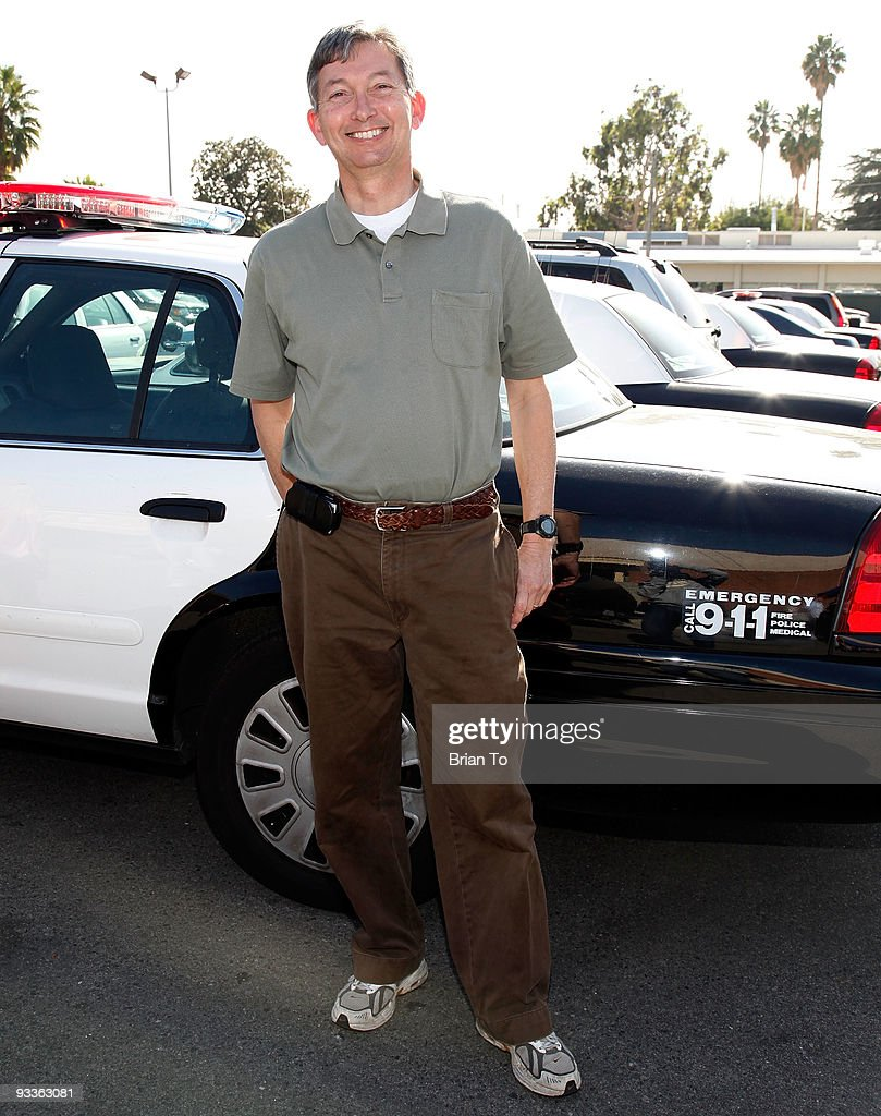 Leron Gubler, Hollywood Chamber of Commerce president and CEO, attends Hollywood Chamber Of Commerce's Police And Firefighters Appreciation Day on November 24, 2009 in Hollywood, California.