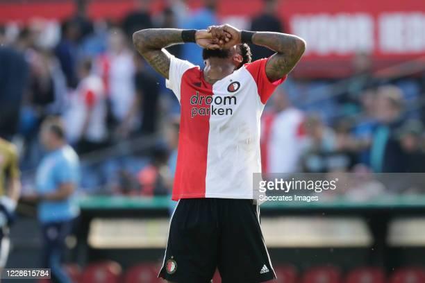 Leroy Fer of Feyenoord disappointed during the Dutch Eredivisie match between Feyenoord v Fc Twente at the Stadium Feijenoord on September 20, 2020...