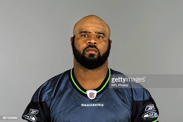 Leroy Hill of the Seattle Seahawks poses for his 2009 NFL headshot at photo day in Seattle Washington