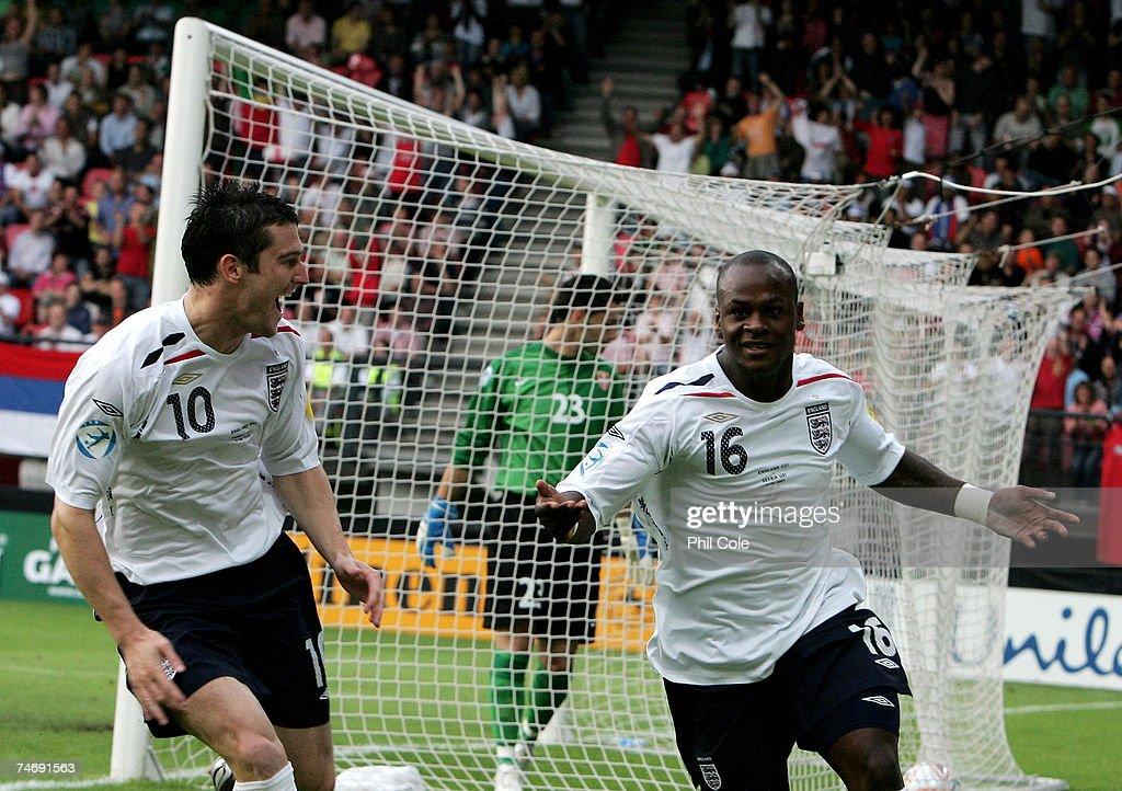 England U21 v Serbia U21 - UEFA U21 Championship : News Photo