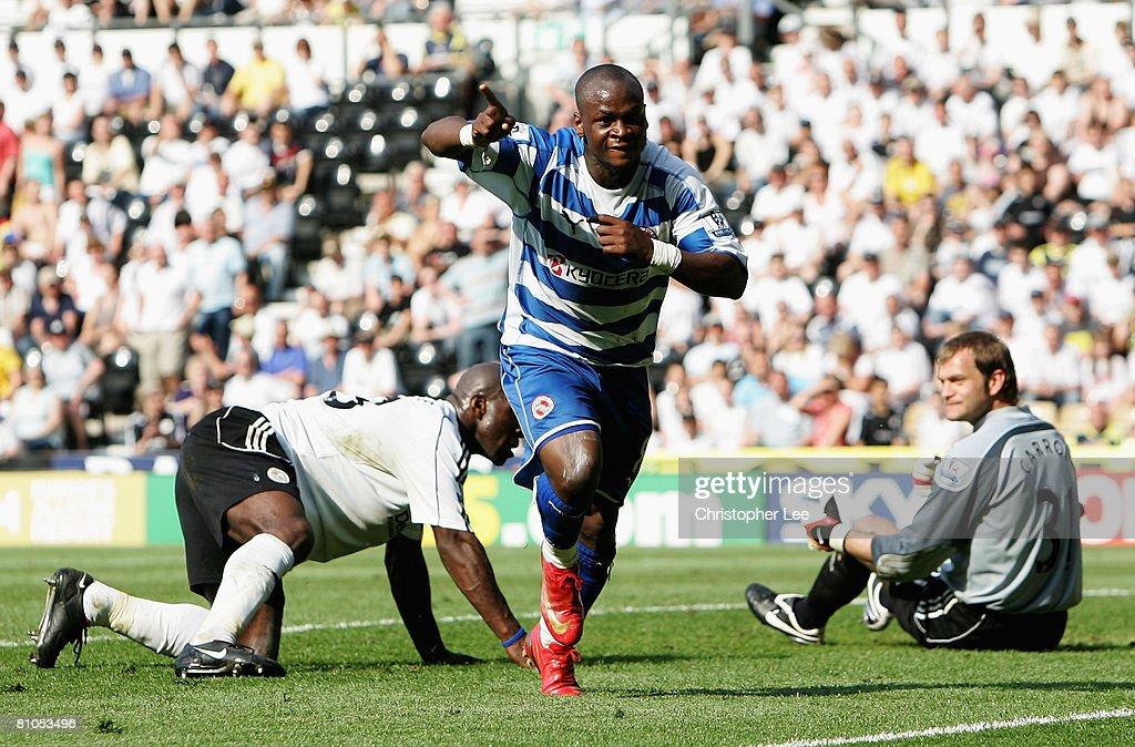 Derby v Reading - Premier League : News Photo