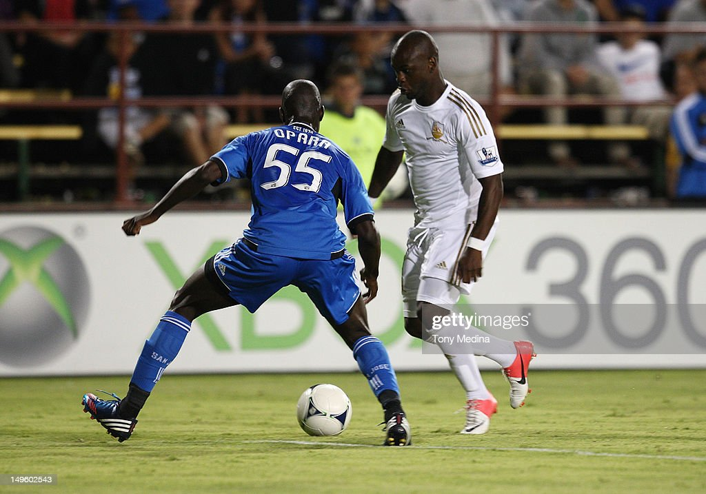 Swansea City v San Jose Earthquakes