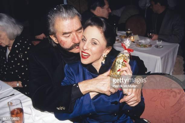 LeRoy Neiman Nikki Haskell Tatou NYC January 25 1995