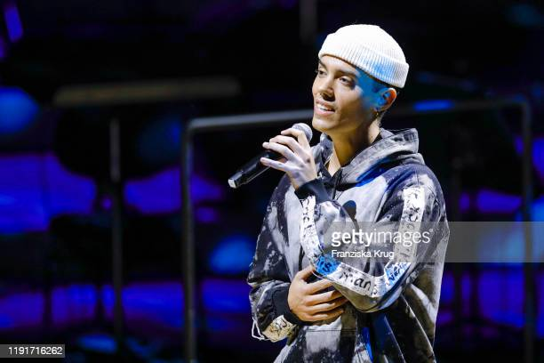 Leroy Sanchez during the Channel Aid Live in concert at Elbphilharmonie on January 4 2020 in Hamburg Germany