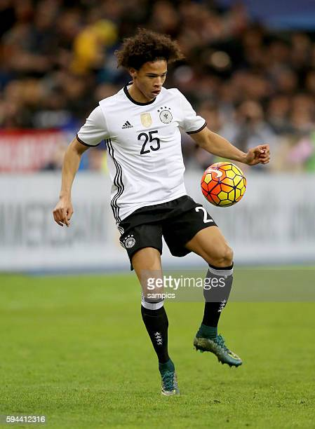 Leroy Sane Fussball Freundschaftsspiel Frankreich Deutschland Football friendly match national team France Germany