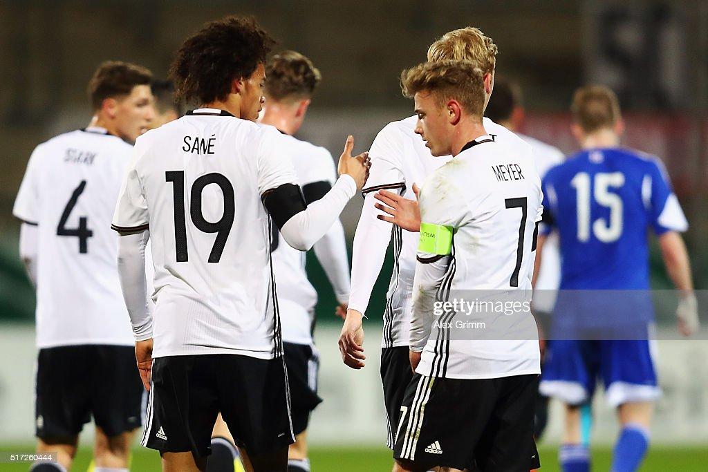 Germany U21 v Faroe Islands U21 - 2017 UEFA European U21 Championships Qualifier : News Photo