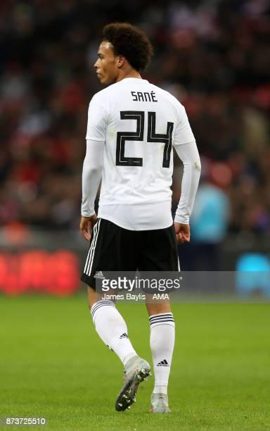 Leroy Sane of Germany during the International Friendly fixture between Germany and England at Wembley Stadium on November 10, 2017 in London,...