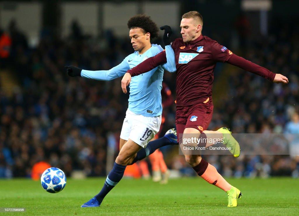Manchester City FC v TSG Hoffenheim - UEFA Champions League Group F : News Photo