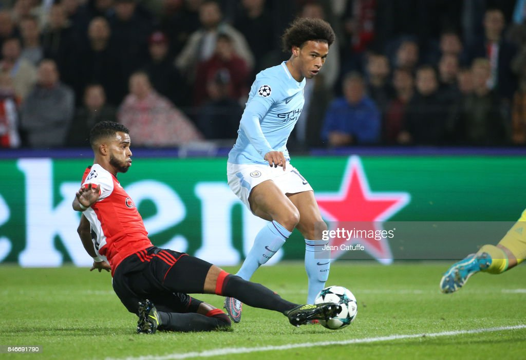 Leroy Sane of Manchester City,...