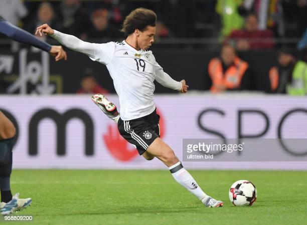Fussball Laenderspiel 2017 Leroy Sane