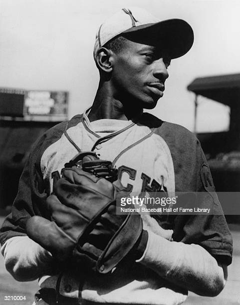 Leroy 'Satchel' Paige of the Negro League Kansas City Monarchs on the mound Paige played for the Kansas City Monarchs from 19391947 In this era of...