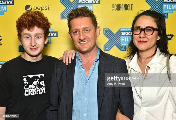 Leroy Winter Alex Winter and Ramsey Naito attend the premiere of 'Deep Web' during the 2015 SXSW Music Film Interactive Festival at the Austin...