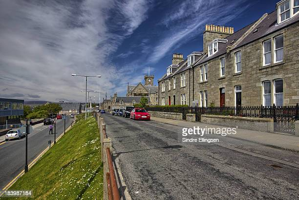 Lerwick on a summer day