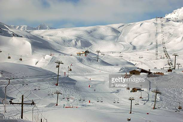 Les Arcs Ski Resort, en France
