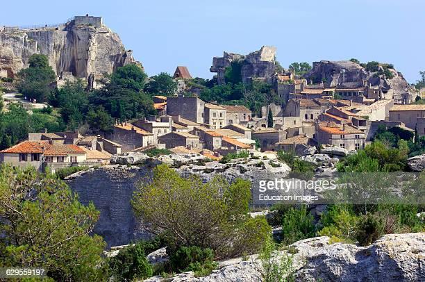 Les Baux de Provence Bouches du Rhone Provence France
