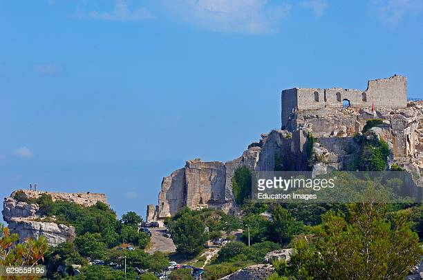 Les Baux de Provence Castle. Bouches du Rhone. Provence. France.