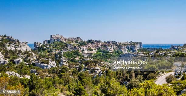 Les Baux-de-Provence and Chateau des Baux