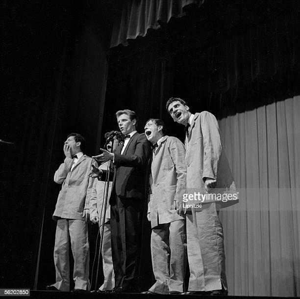 Les Brutos and Aldo Maccione Paris Olympia january 1960