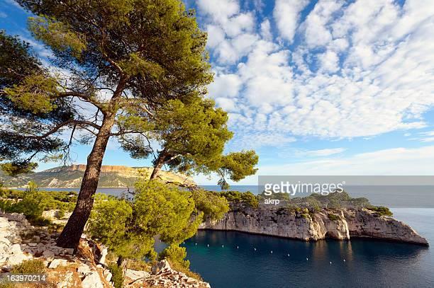 Les Calanques de Cassis sur la Côte D'Azur