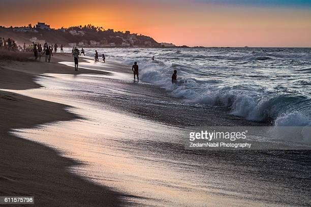 les canadiennes beach (algeria) - アルジェー ストックフォトと画像