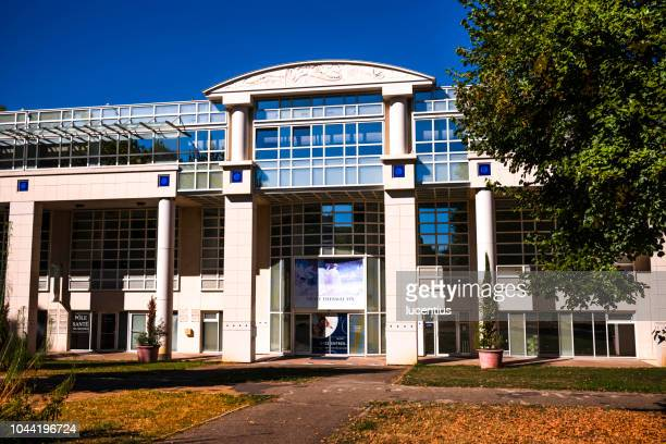 les celestins thermal spa at vichy, auvergne, france - allier stock photos and pictures