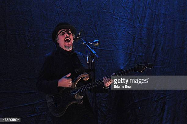 Les Claypool of Primus performs at O2 Academy Brixton on June 23 2015 in London United Kingdom