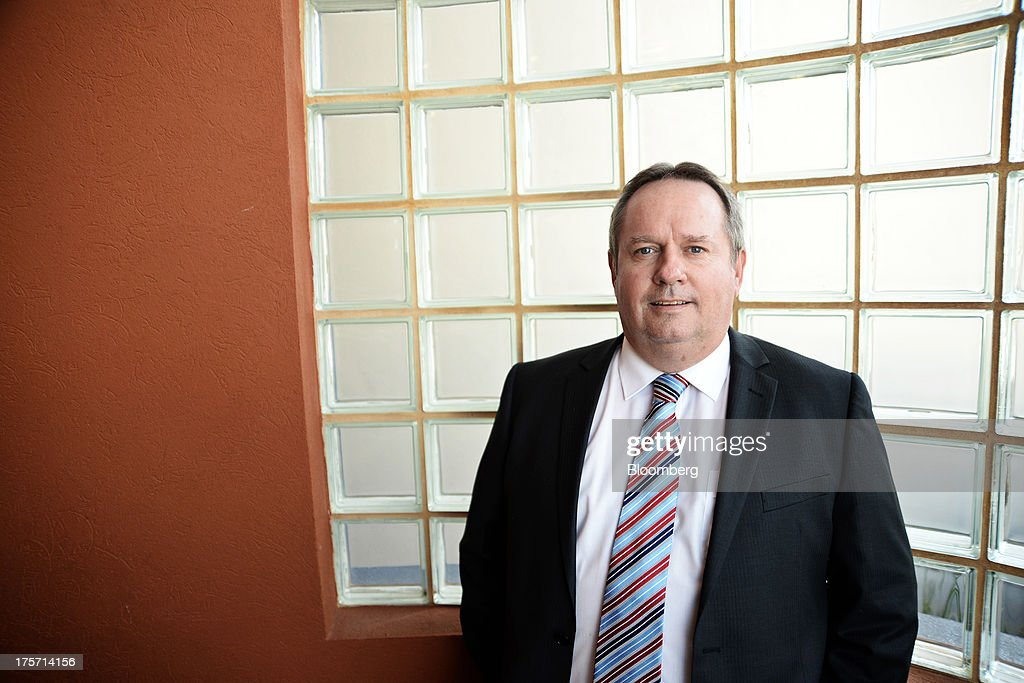 Les Davis, managing director of Silver Lake Resources Ltd., poses for a photograph during the Diggers and Dealers mining forum in Kalgoorlie, Australia, on Tuesday, Aug. 6, 2013. The Diggers and Dealers mining forum runs from Aug. 5-7. Photographer: Carla Gottgens/Bloomberg via Getty Images