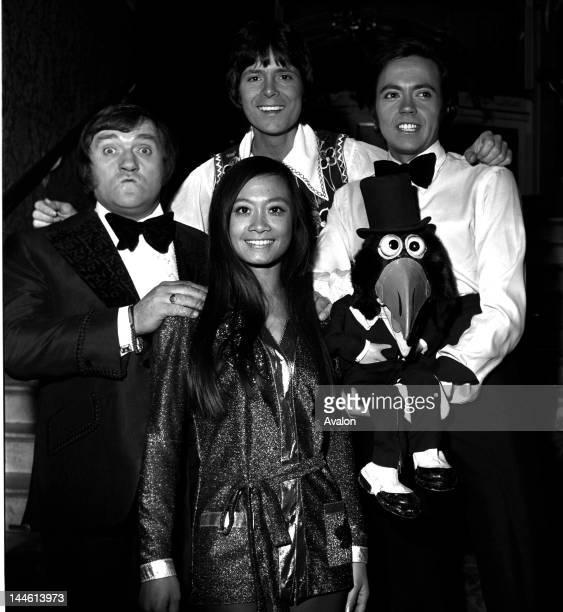 Les Dawson Cliff Richard Wei Wei Wong Jose Luis Moreno in November 1973