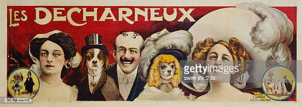 Les Decharneux Theatre Advertisement Poster by L Damare