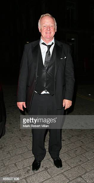 Les Dennis at the TV Choice awards on September 8 2014 in London England