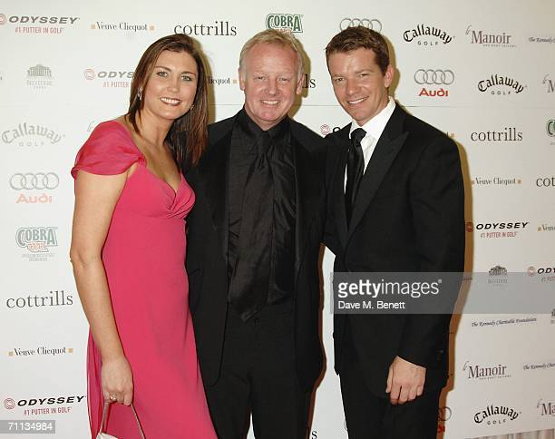 Les Dennis Claire Nicholson and Max Beesley attend a Gala Dinner in aid of the Five Star Scanner Appeal which aims to raise funds for the Greater...