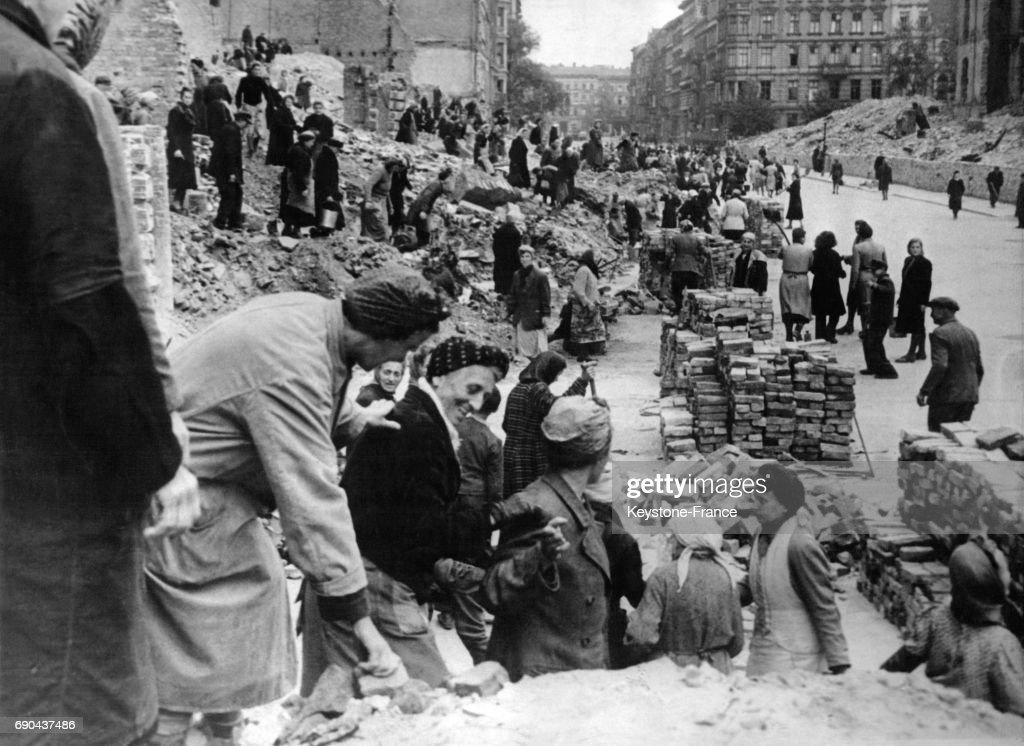 Reconstruction de Berlin : Nachrichtenfoto