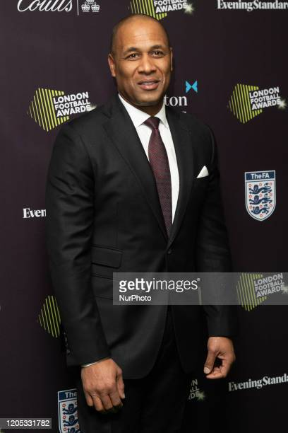 Les Ferdinand attends London Football Awards at The Roundhouse on March 05, 2020 in London, UK.
