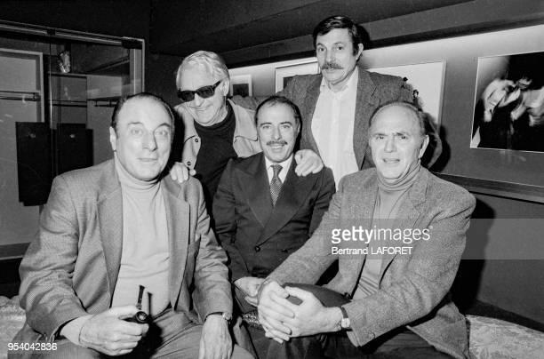 Les Frères Jacques donnent font leurs adieux à la scène au Théâtre de Boulogne le 4 janvier 1982 France