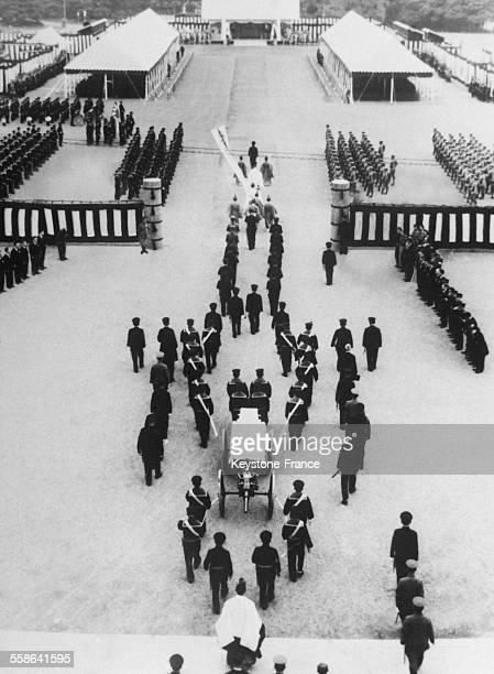 Les Funérailles de l'Amiral Isoroku Yamamoto le 3 juin 1943 à Tokyo Japon