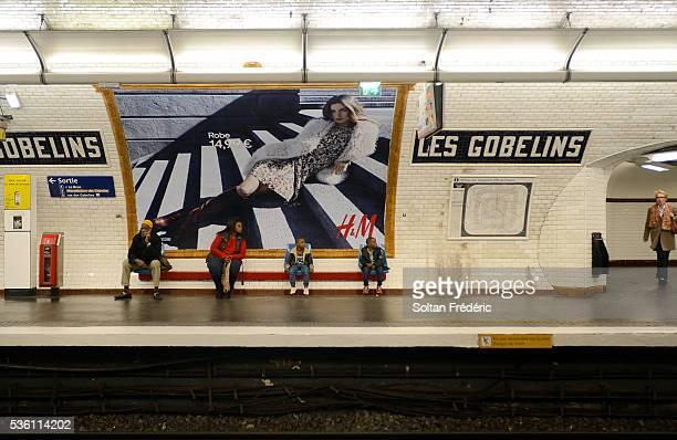 Les Gobelins Paris Métro station