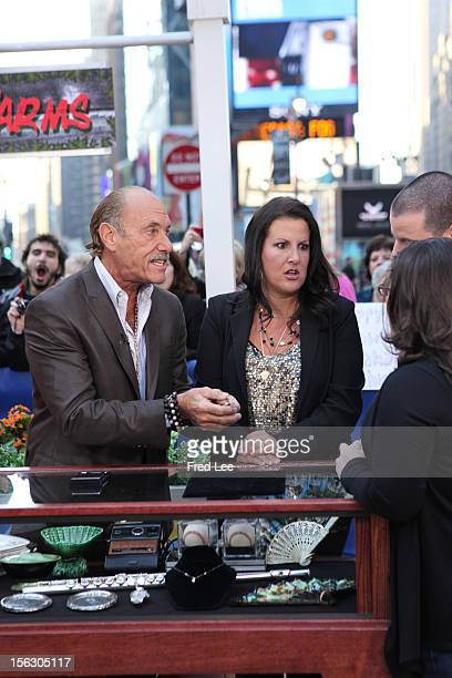 AMERICA Les Gold and Ashley Broad of Harcore Pawn appear on Good Morning America 11/12/12 airing on the Walt Disney Television via Getty Images...