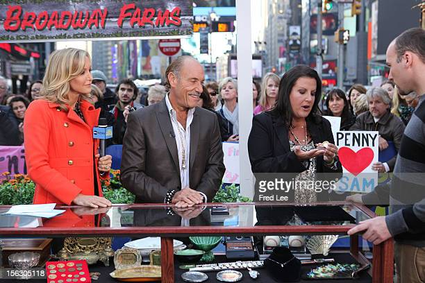 """Les Gold and Ashley Broad of """"Harcore Pawn"""" appear on """"Good Morning America,"""" 11/12/12, airing on the Walt Disney Television via Getty Images..."""