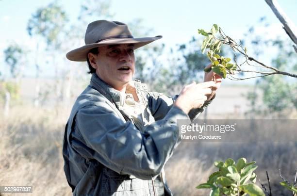 Les Hiddins Bush Tucker Man portrait Australia 1996