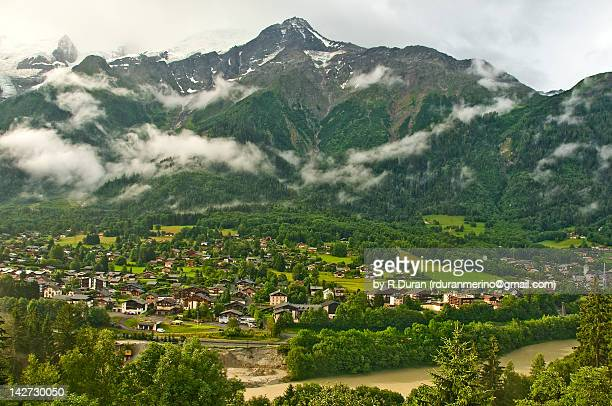 les houches - haute savoie stock pictures, royalty-free photos & images