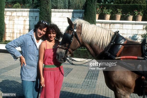 Les Humphries Freundin Alida Gundlach Urlaub am auf Insel Mallorca Spanien