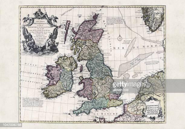 Les Isles Britanniques : ou sont le Royaume d'Angleterre tire«de Sped celuy d'Ecosse tire«de Th. Pont et celuy d'Irlande tire de Petti, Le tout...