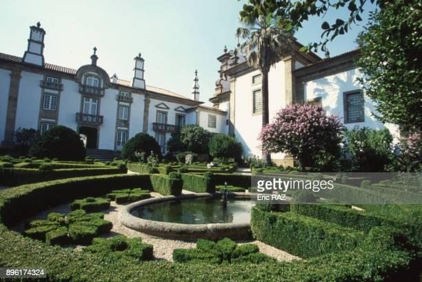 Les jardins du palacio de Mateus a Vila Real en 2000 Portugal